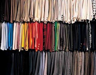 ropa de colores